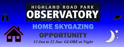 Home Skygazing Opportunity GLOBE at Night
