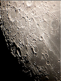 Moon color image