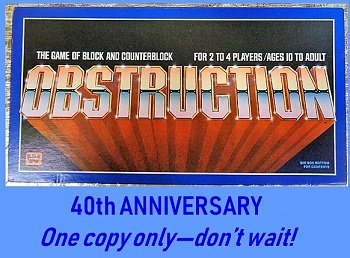Obstruction 40th Anniversary