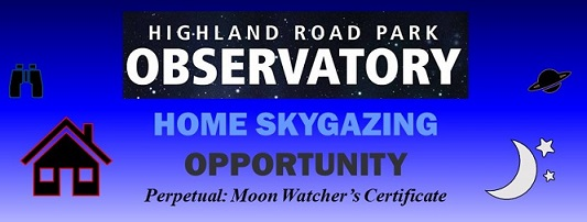 Home Skygazing Opportunity Moon Watchers Certificate
