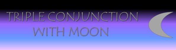 Triple Conjunction with Moon